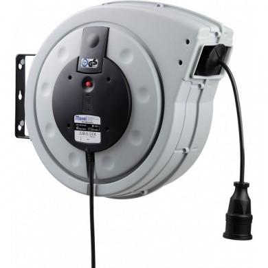 MAVEL Major Plus Automatic Current Reel - 25+2 metre, 3 x 1,5 mm², 230 volt
