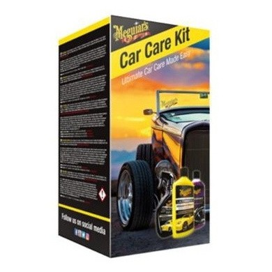 MEGUIARS Car Care Kit - 3 pieces