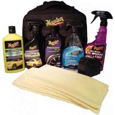 MEGUIARS Deluxe Car Care Kit Set + Gratis tas