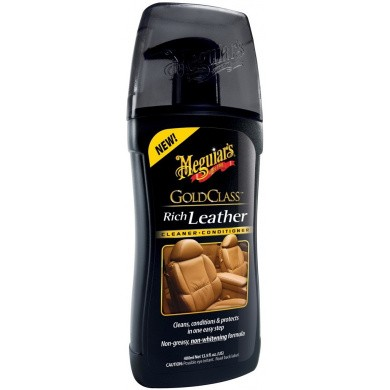 MEGUIARS Gold Class Rich Leather Cleaner en Conditioner G17914