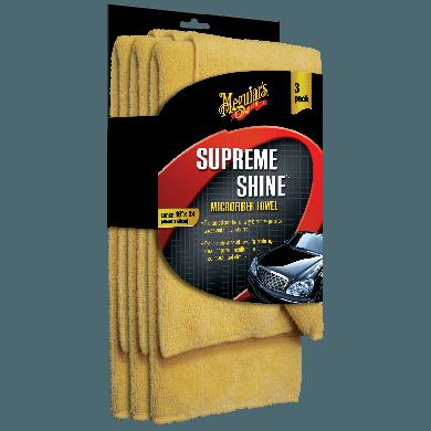 MEGUIAR'S Supreme Shine - Mikrofasertuch - 3 Stück