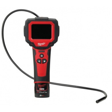 Milwaukee M12-IC-201C Accu Inspectiecamera in koffer