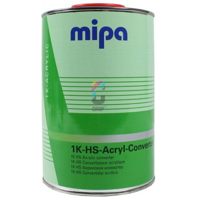 MIPA 1K Acryl Converter for 2K Paints into 1K-acrylic Paint1 Litre