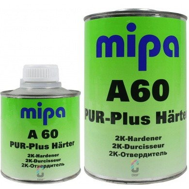 MIPA A60 - 2K PUR Plus Hardener for 2K Acrylic Brush Paint