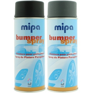 MIPA Bumper Verf in Spuitbus 400ml - Sneldrogende Bumperlak