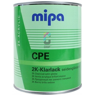 MIPA 2K Elastified Clear Coat Satin Gloss CPE Matt 1 Litre