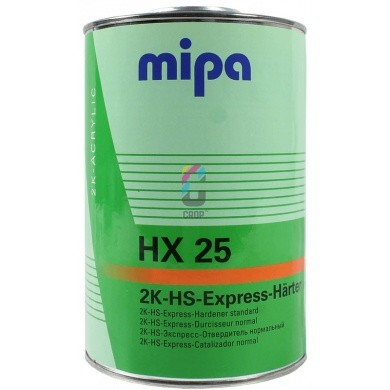 MIPA 2K High Solid Hardener HX25 for 2K-HS-Express-Klarlack CX3
