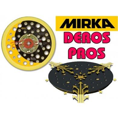 "MIRKA DEROS + PROS Velcro Steunpad 150mm 5/16"""