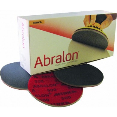 MIRKA ABRALON Sanding Discs 125mm, 20 pieces