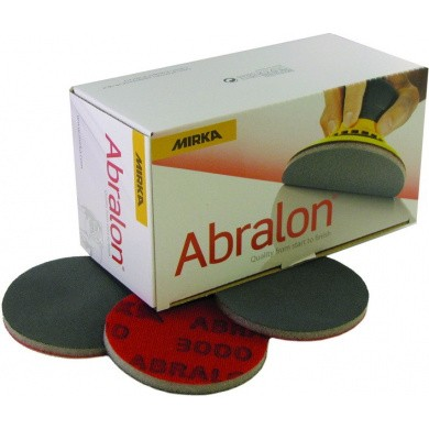 MIRKA ABRALON Sanding Discs -  77mm, 20 pieces