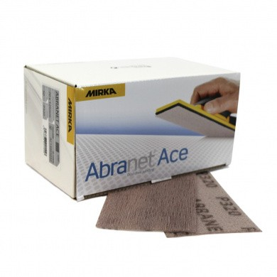 MIRKA ABRANET ACE Sanding Strips 70x125mm, 50 pieces