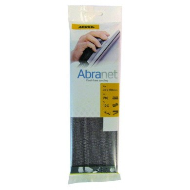 MIRKA ABRANET Eco Sanding Sheets - 70x198mm, 10 pieces, Small Package