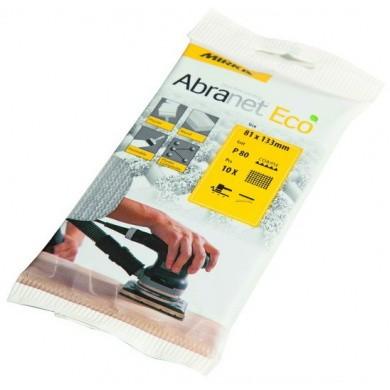 MIRKA ABRANET Eco Sanding Sheets - 81x133mm, 10 pieces, Small Package