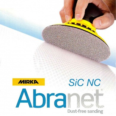 MIRKA ABRANET SIC NS Sanding Discs 125mm, 50 pieces