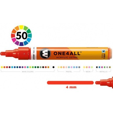 MOLOTOW One4All 227HS Premium Acrylic Marker High Flow 4mm