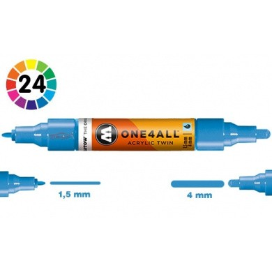MOLOTOW One4All Premium Acrylic TWIN Marker 1,5 + 4mm