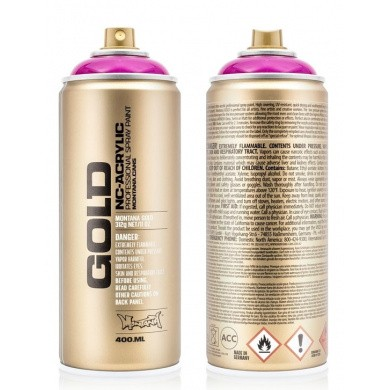 Montana GOLD Transparent Spray 400ml