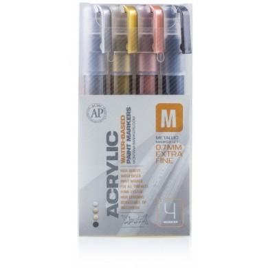 Montana Acrylic Marker Set Metallic