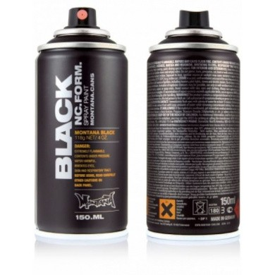 Montana BLACK POCKET Spuitbussen 150ml