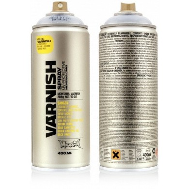Montana TECH VARNISH Spray Spuitbussen 400ml