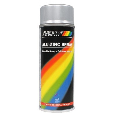 MoTip Alu-Zinkspray in Spuitbus 400ml