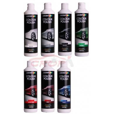 MoTip Car Care Black Colour Polish 500ml