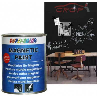 MoTip / Dupli-Color MAGNETIC PAINT Magnetische schoolborden kwastlak in 500ml blik