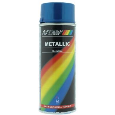 MoTip Metallic Blauw spuitbus 400ml