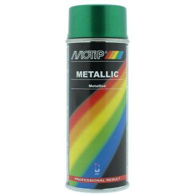 MoTip Metallic Groen spuitbus 400ml