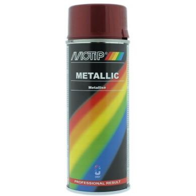 MoTip Metallic Rood spuitbus 400ml