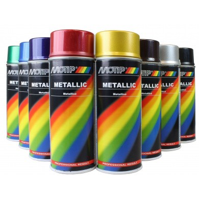 MoTip Metallic Lak in Spuitbus 400ml