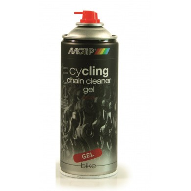 MOTIP Cycling Chain Cleaner Gel Spray in 400ml Aerosol
