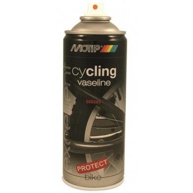 MOTIP Cycling Vaseline Spray in 400ml Aerosol