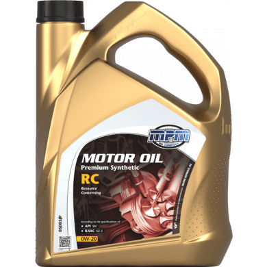 MPM Motorolie 0w20 Premium Synthetic RC - 5 liter