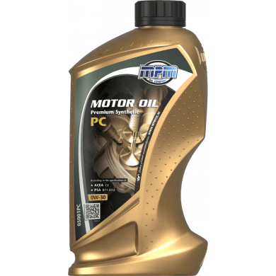 MPM Motorolie 0w30 Premium Synthetic PC - 1 liter
