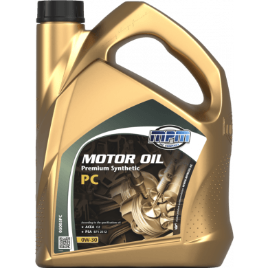 MPM Motorolie 0w30 Premium Synthetic PC - 5 liter