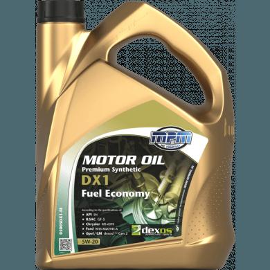 MPM Motorolie 5w20 Premium Synthetic DX1 FUEL ECONOMY - 5 liter