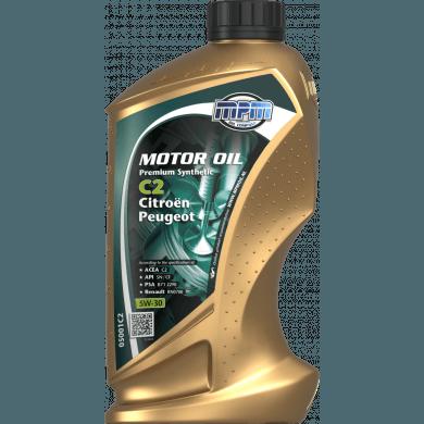 MPM Motorolie 5w30 Premium Synthetic C2 CITROËN + PEUGEOT - 1 liter