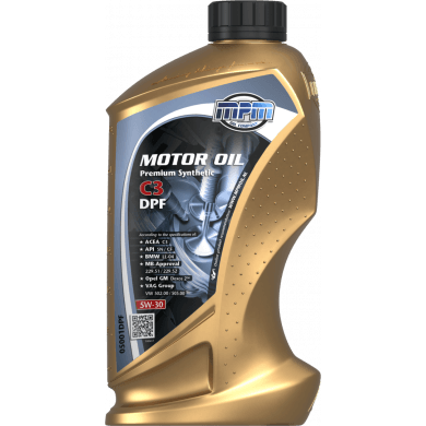 MPM Motorolie 5w30 Premium Synthetic C3 DPF - 1 liter