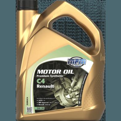 MPM Motorolie 5w30 Premium Synthetic C4 RENAULT - 5 liter