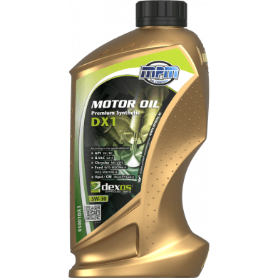 MPM Motorolie 5w30 Premium Synthetic DX1 - 1 liter