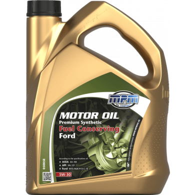 MPM Motorolie 5w30 Premium Synthetic FUEL CONSERVING FORD - 5 liter