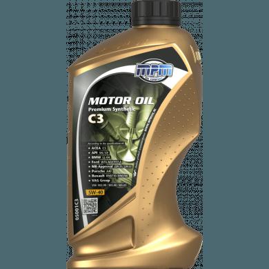 MPM Motorolie 5w40 Premium Synthetic C3 - 1 liter