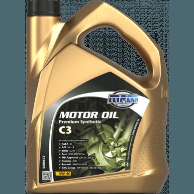 MPM Motorolie 5w40 Premium Synthetic C3 - 5 liter