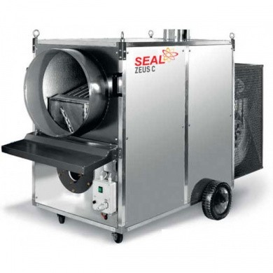 MUNTERS ZEUS 220C SEAL Mobile Indirect Diesel Space Heater 200,9kW
