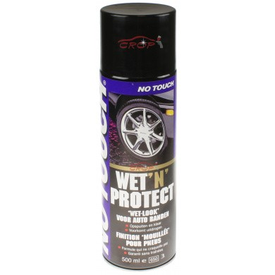 No Touch Wet 'N Protect Bandenzwart