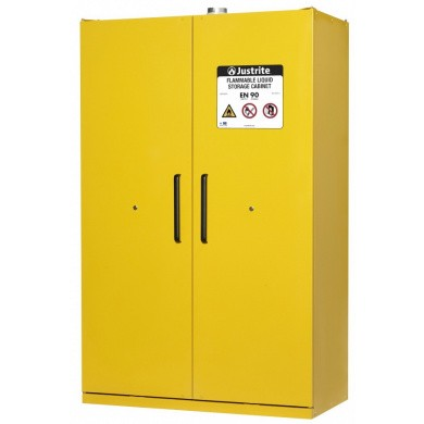 Storage- and Safety Cabinet for Flammable Liquids - 2 Doors