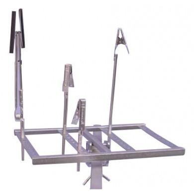 Opzetstuk voor draaibare deurenstandaard en onderdelenstandaard