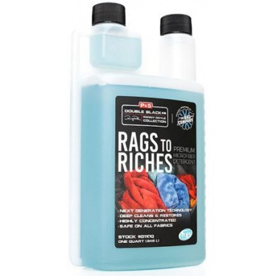 The Rag Company - P&S Rags to Riches Microvezel Wasmiddel