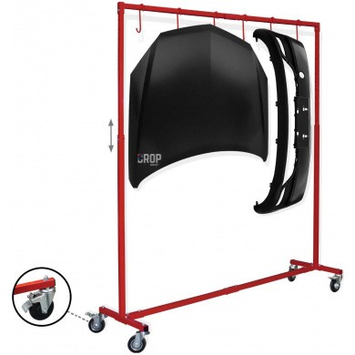 PAINT HANGER Portable & Adjustable Painting Rack Stand